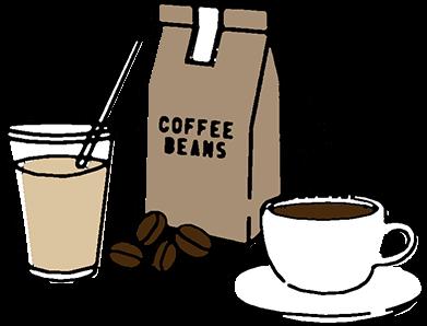 コーヒー豆、コーヒー