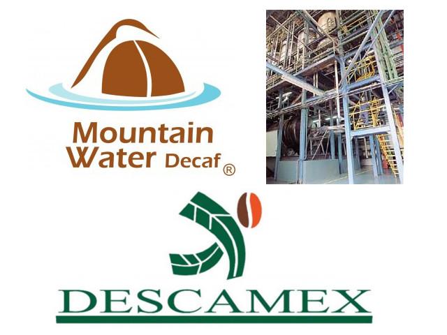 有機デカフェ工場Descamex社 マウンテンウォーター製法